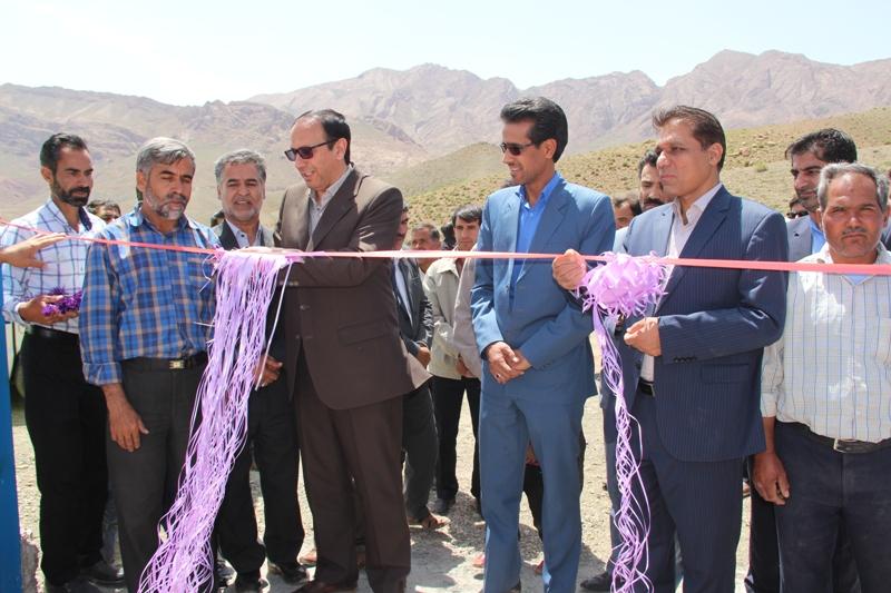 تعدادي از پروژه هاي عمراني و رفاهي در سطح بخش نيمبلوك شهرستان قاينات افتتاح گرديد.